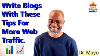 write blogs traffic website