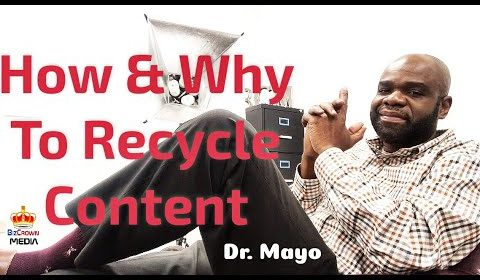 recycle content dr. mayo